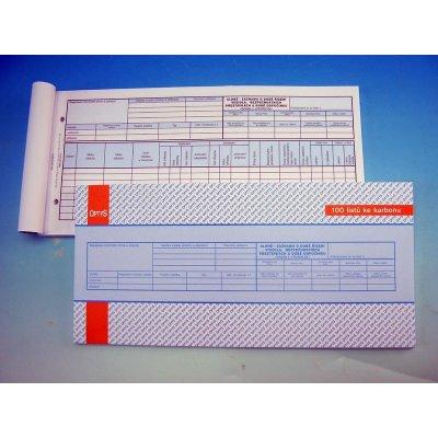 Optys 1175 Alonž ke karbonovému záznamu o době řízení vozidla