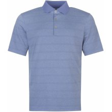 Ashworth Knit Polo Shirt Mens Twilight Blue