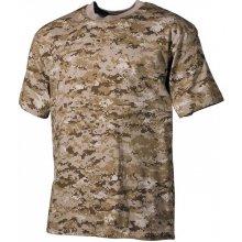 MFH maskáčové tričko vzor digital desert 170g/m2