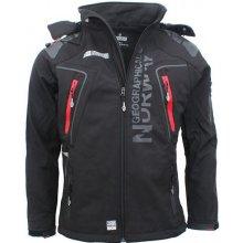 GEOGRAPHICAL NORWAY bunda pánská TECHNO softshell černá