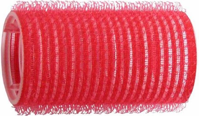 Vlasové natáčky Duko Velcro natáčky na vlasy samodržící červené 15 4 ... db557c47025