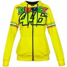 879de3268a9c5 VR46 mikina Stripes dámská yellow