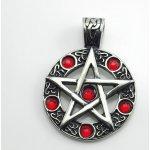 6755905b3 SteelArt Přívěsek z chirugické oceli Pentagram OCPRIV220166