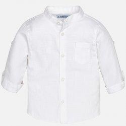 Mayoral chlapecká košile s dlouhým rukávem bez límečku bílá od 559 ... b785c249f0
