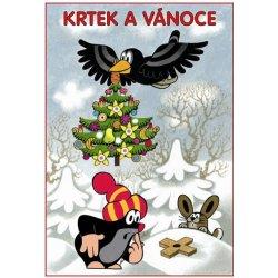 Krtek a Vánoce Omalovánky A5
