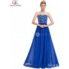 95a3c7b9fb56 Grace Karin společenské šaty CL6050 modrá