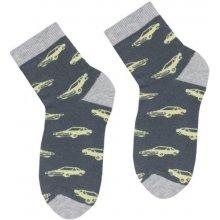 Steven Chlapecké ponožky s autem sv.šedé 29c37bb558