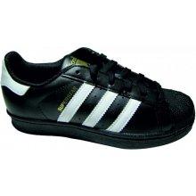 Adidas Originals SUPERSTAR FOUNDATION Černá   Bílá b0c6fbb560