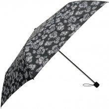 Golddigga 3 Fold Umbrella Ladies Black Floral