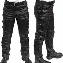 kalhoty kožené pánské MOTOR MOT003