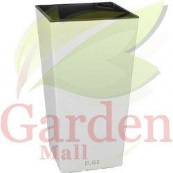 PLASTKON květináč Indoor&Outdoor ELISE 25 cm - bílý