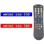Dálkový ovladač Amiko 550
