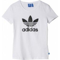 adidas Originals TREFOIL TEE CV9889 bílá bd0924e4c57