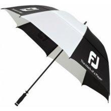 FJ deštník Dual Canopy černo bílý