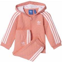 Adidas dětská souprava Fl Qlt Hfl růžová