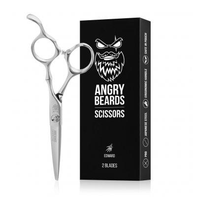 Angry Beards nůžky na vousy Edward