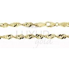 Náramek ze žlutého zlata LUXUR GOLD 3040008