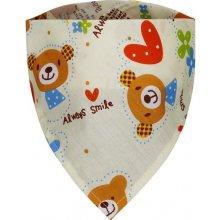 T Tomi dětský šátek s motivem medvídků 5 v 1