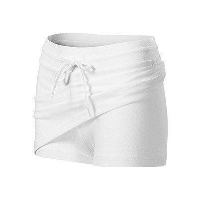 MALFINI Two in one sukně bílá