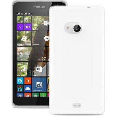Pouzdro Puro 0.3 Ultra Slim ultratenké Microsoft Lumia 535 Lumia 535 Dual Sim bílé
