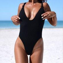V&V Briana jednodílné plavky černá