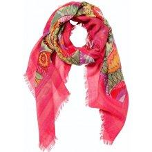 62071c5f7bc Desgiual šátek Nispero fuchsia rose