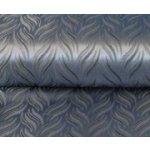Látka na závěsy Brokat modro-šedá metraž > varianta modro-šedá