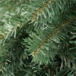 TecTake 402820 Umělý vánoční stromek 180 cm 533 konečky zelené PVC