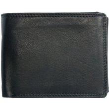 Kožená peněženka z měkké kůže bez značek a nápisů