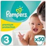 Pampers Premium protection jednorázové 3 midi 50 ks