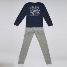 WOLF chlapecké pyžamo tmavě modré