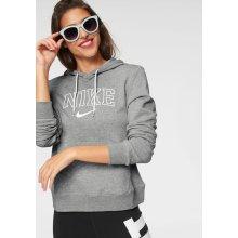 Nike Sportswear W NSW Hoodie VRSTY šedá-melír 07224d65b7