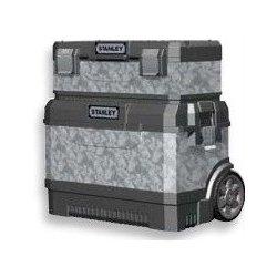 Kufry na nářadí Stanley Kovoplastový pojízdný box + box na nářadí galvanizovaný 1-95-832