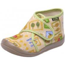 1e1047d68 Dětské papuče Nature - kotníkové velcro