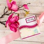"""Narozeninové přání """"Přeji Ti krásné narozeniny"""", růžové"""