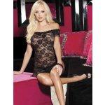 Erotické šaty krajkové 96351 světle růžová Shirley H.O.T.