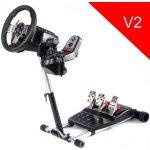 Stojan na volant Wheel Stand PRO DELUXE V2 - černý