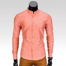 Rafael Pánská slimfit košile oranžová