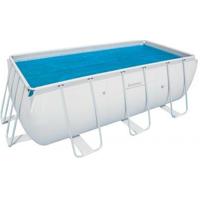 BESTWAY 58240C solární plachta 3,80 x 1,80 m na bazén 4,04 x 2,01 x 1 m