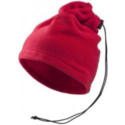 Adler fleece čepice Practic marlboro červená