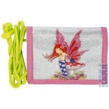 Cool peněženka s poutkem Fairy pink
