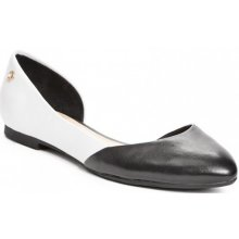 Guess Ginny D'Orsay Flats white multi leather