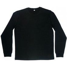 Mantis Módní pánské tričko s dlouhým rukávem Černá