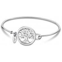8e3f32c12 Lotus Style pevný ocelový náramek Strom života LS2014-2/3