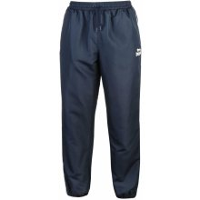 Lonsdale 2 Stripe Tracksuit Bottoms Mens Navy/White