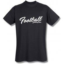 Style T Shirt Football Černá
