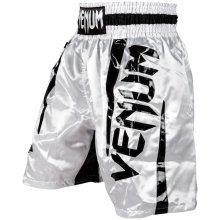 Pánské Boxerské šortky Venum ELITE bílo černé 5021800f87
