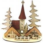 MFP paper s.r.o. Svícen vesnička dřevěný LMX-5607