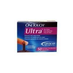 One Touch Ultra Test Strips 50 ks