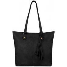 Dokonalá kabelka s třásněmi JBFB120B černá